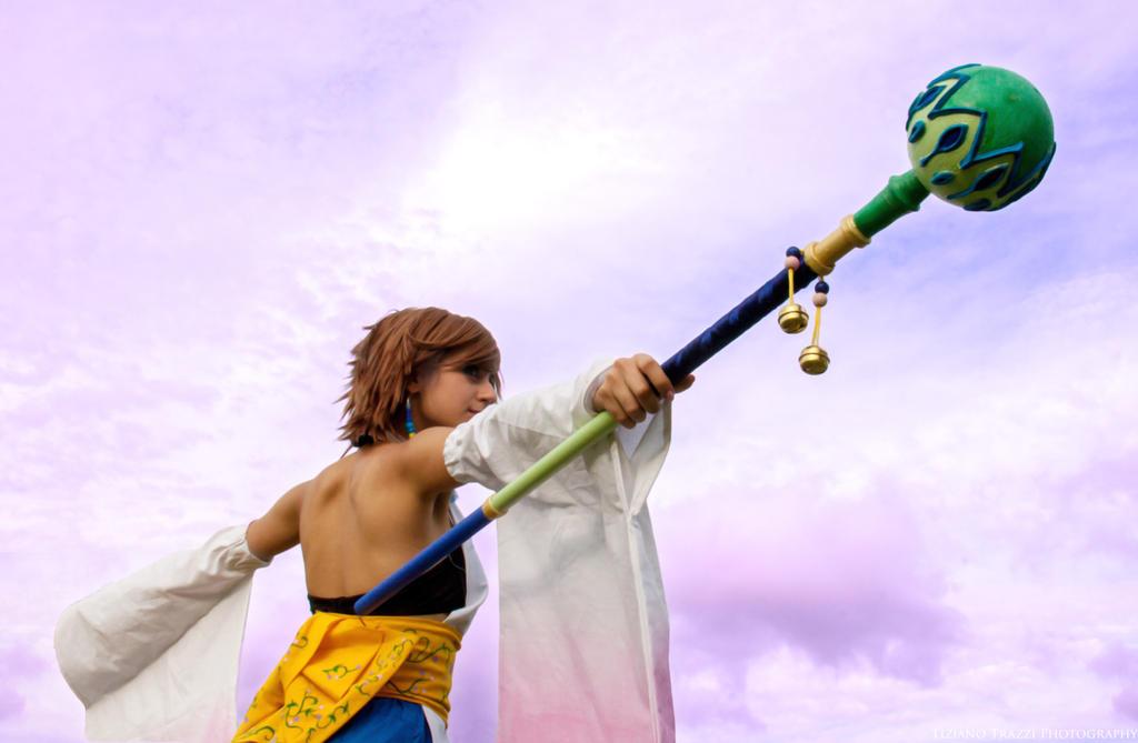 Yuna Final Fantasy x - Cosplay by Emy182