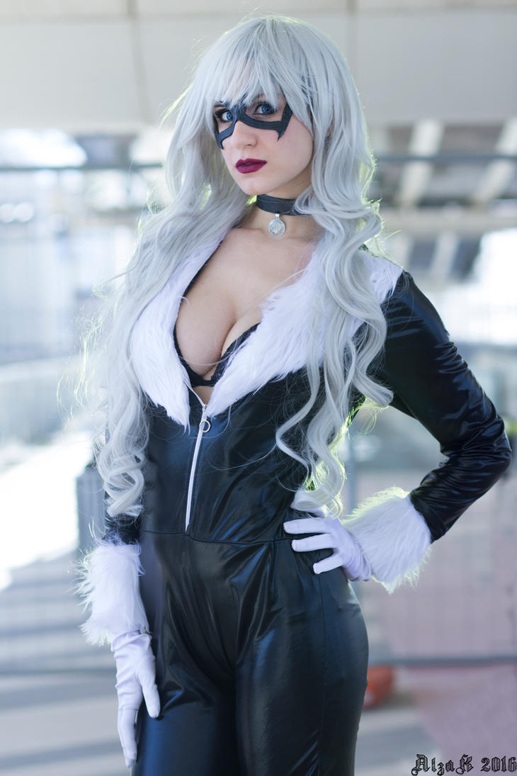 Black Cat Felicia Hardy from Spiderman - Cosplay by Emy182
