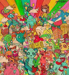 Rainbow Junkies by KatieAnnOwens