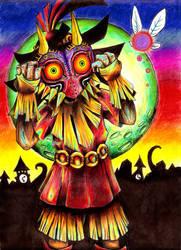 Majora's Mask by KatieAnnOwens