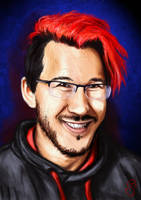 Red Markiplier by RabbitHazard