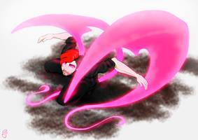 Winged Darkiplier by RabbitHazard