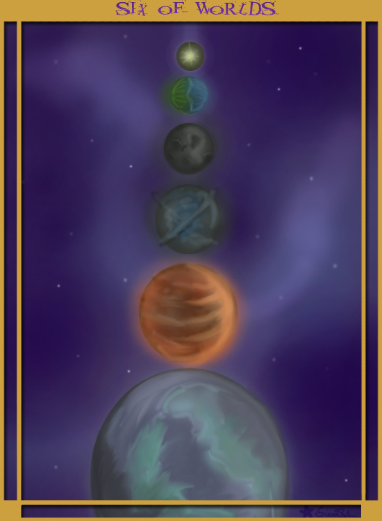 Six of Worlds - Tarot Contest by Zarreis