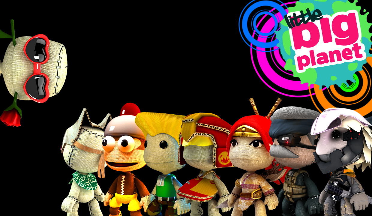 Little Big Planet Wallpaper: LittleBigPlanet Wallpaper By ExCentya On DeviantArt