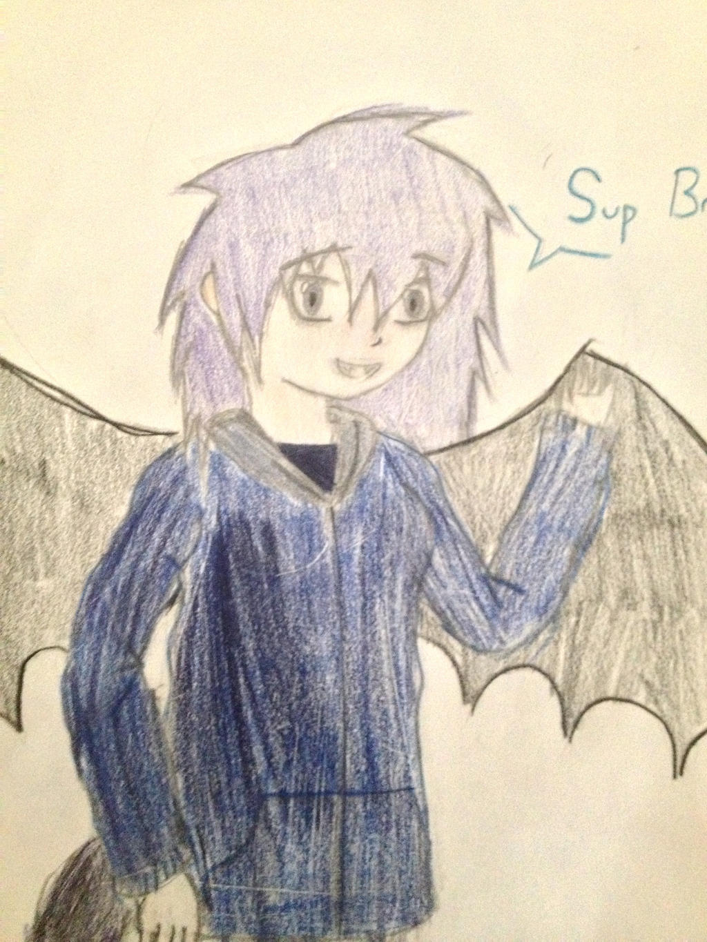 'Sup Bro's! ( sorry for crappy coloring XD) by SHADOW-HEART130