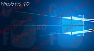 Windows 10 Wallpaper Vector