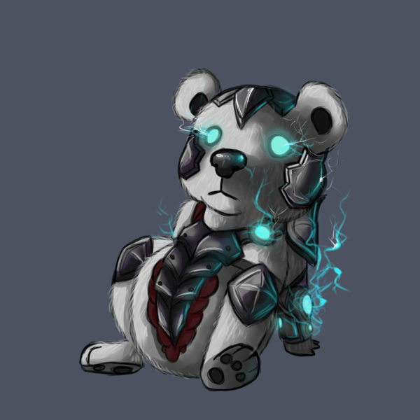 Chibi Volibear by NerdyNation