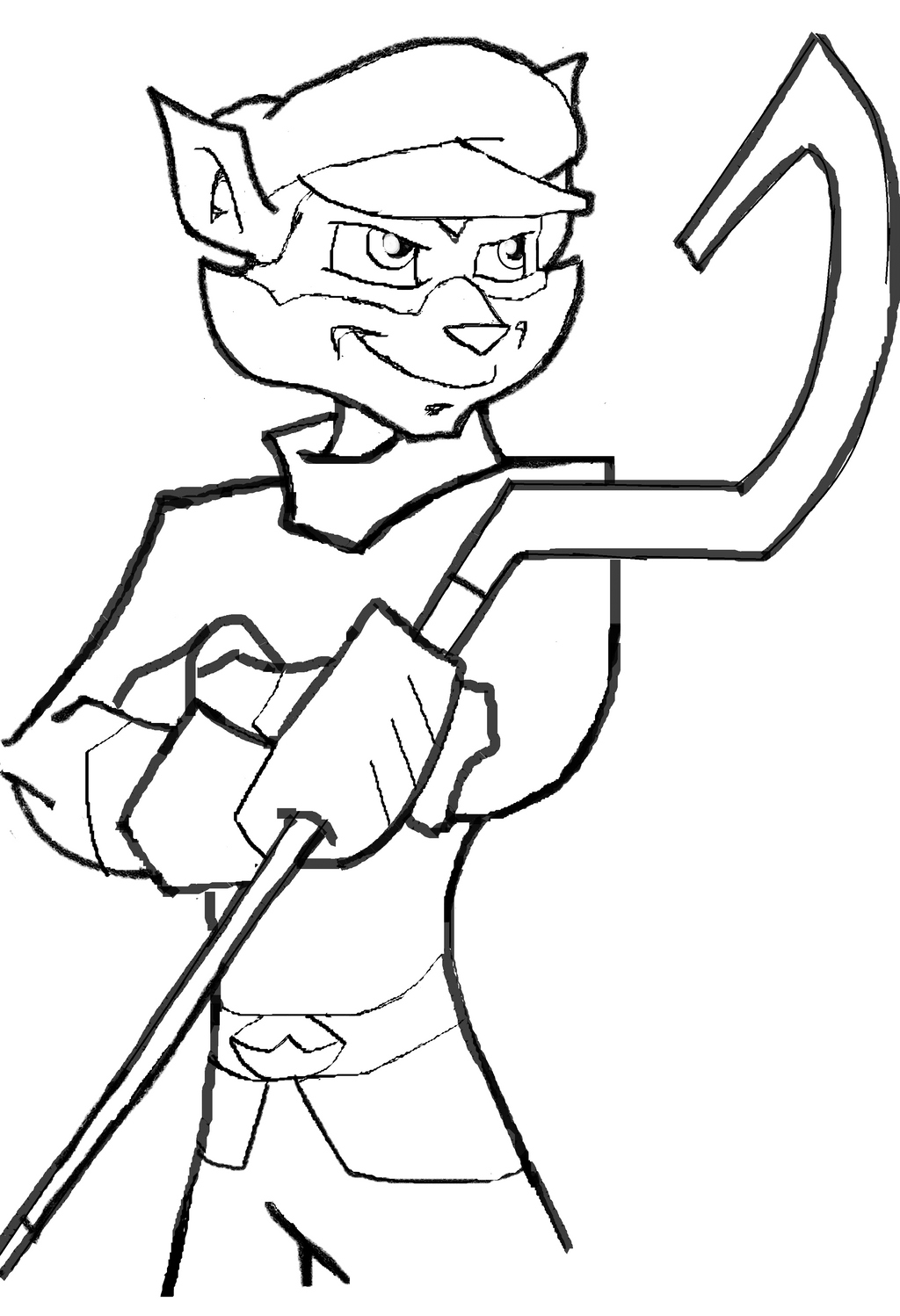 Sly Cooper Coloring Pages Sketch Coloring Page Sly Cooper Coloring Pages