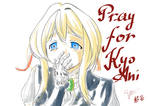 Pray for KyoAni by DeathZo