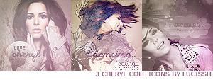 Cheryl Cole icons by Lucissh