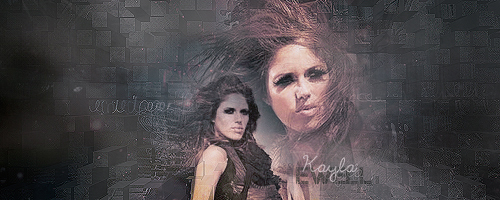 Signature with Kayla Ewell by Lucissh
