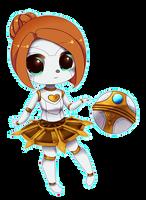 Orianna (For Sylvibot) League of Legends by TsundereWaifu