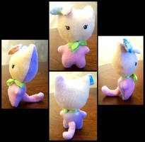 Kitty Plushie : . by LittleMacarons