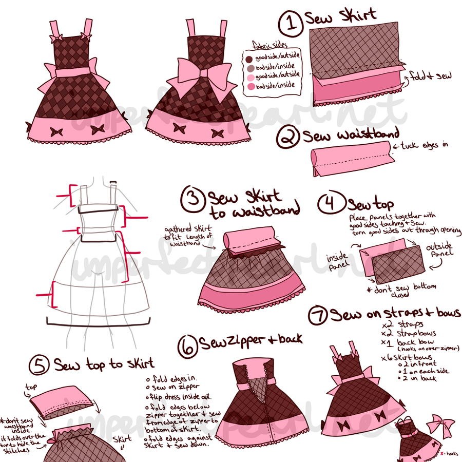 Lolita Dress Concept by LittleMacarons