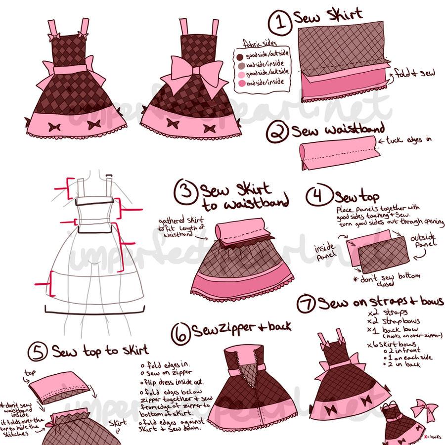 Lolita Dress Concept by LittleMacarons