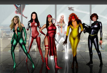 Marvel Maidens
