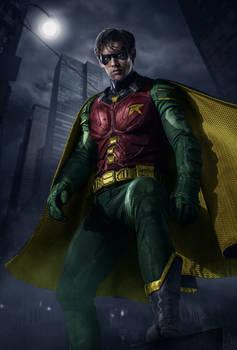 Titans - Robin's classic suit