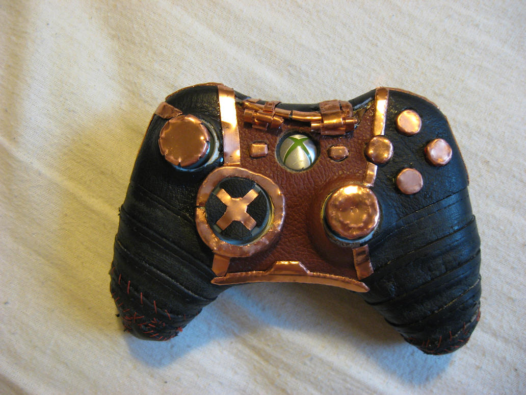 steampunk 360 controller by xerquillus
