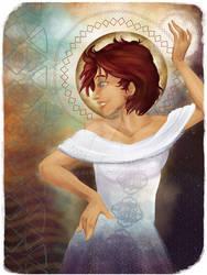 Senshi of Optimism - DragonAge Style Tarot