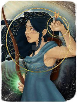 Jada - Dragon Age Companion Card - Knight of Wands