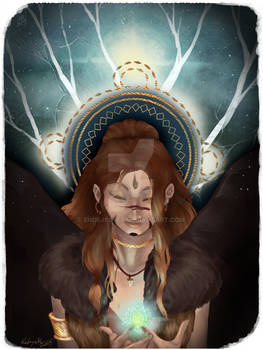 Leto - 5 of wands