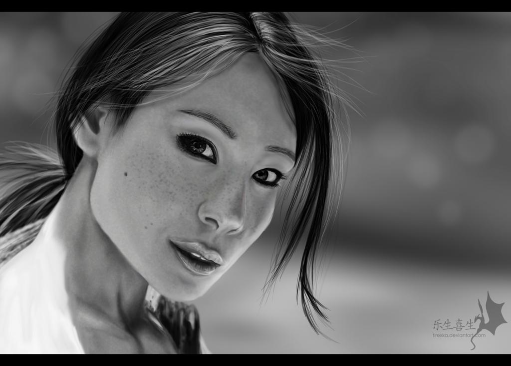 Lucy Liu by Naia-Art ...