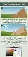 1. How to paint rocks and stones
