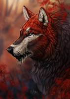 -= Com: Lurking in the forest =- by Naia-Art