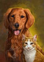-= Com: Dixie and Jungkook =- by Naia-Art