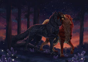 -= Com: Howl with me darling =- by Naia-Art