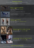 -= UPDATED : Commission price list - CLOSED =- by Naia-Art