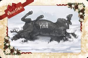 -= YHH Christmas card 01 - Look, I am reindeer =- by Naia-Art