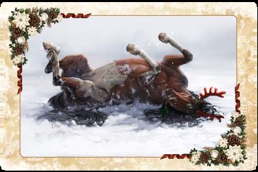 -= Look, I am reindeer =-