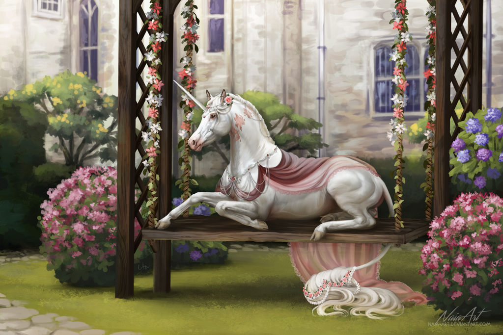 -= Com: The princess =- by Naia-Art