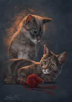 -= Cleo and Juniper =-