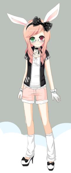 Mitsu Shirokumi [OC Principal] by ChibiMitsu