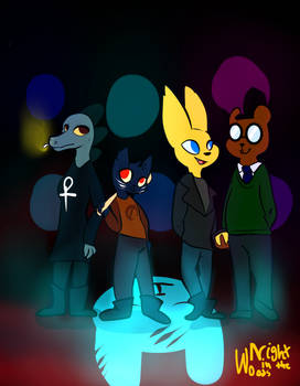 Night in the woods by Jimmycovato22