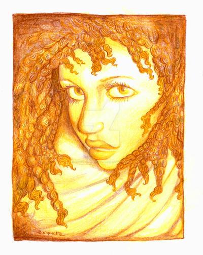 Golden Girl by SnowFlurryCat