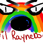 Evil Raynebow of DOOM Digital by DoofusMaximus