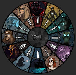 2015 Summary of Art by Mustang-sauvage