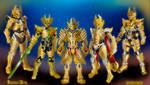 Golden Knight Garo by DravisN