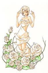 the-white-rose by pandabaka