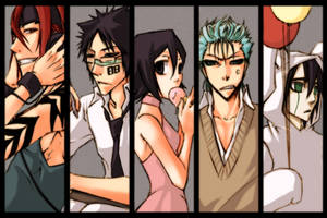 bleach - comicparty10 bookmark by pandabaka