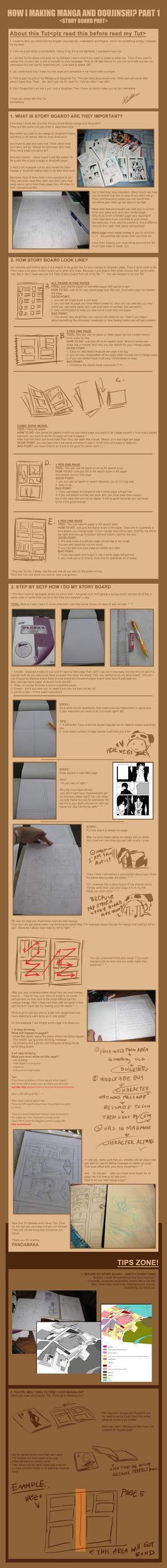 How I making manga part 1 by pandabaka