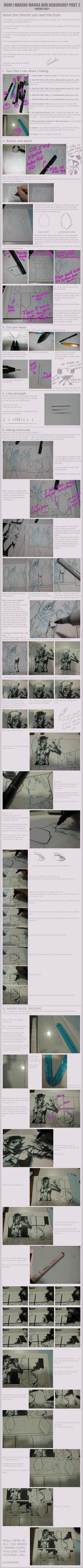 How I making manga part 2 by pandabaka