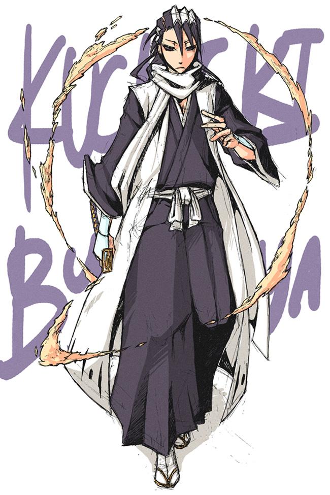 Bleach -Byakuya by pandabaka