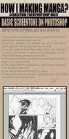 How to basic screentone on PTS