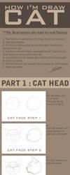how I am draw cat by pandabaka