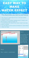 Easy way to make water -3- by pandabaka