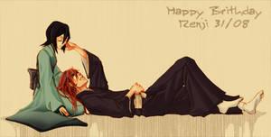bleach - happy Bday renji